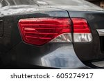 Closeup Of Led Car Backlight