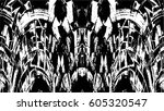 grunge black and white urban... | Shutterstock .eps vector #605320547
