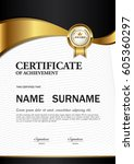 certificate template a4 size