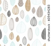 floral background  baby... | Shutterstock .eps vector #605434283