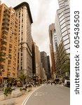 new york  usa   sep 22  2015 ...   Shutterstock . vector #605436503