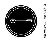 badge button back black symbol...   Shutterstock .eps vector #605466623