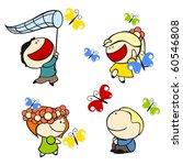 Funny Kids  9   Butterflies ...