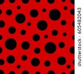 Ladybug Pattern. Seamless...