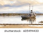 Old Fishing Boat Ushuaia...