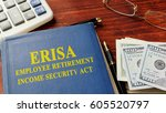 Small photo of Book with title Employee Retirement Income Security Act (ERISA).