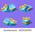 set of gifts  vector...