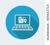 automotive online quote  ...   Shutterstock .eps vector #605622713