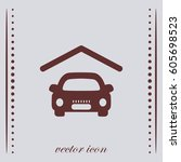 car icon  web design element | Shutterstock .eps vector #605698523
