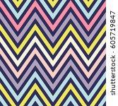 seamless vector pattern or... | Shutterstock .eps vector #605719847