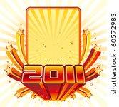 vector illustration of new year ... | Shutterstock .eps vector #60572983