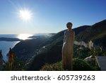 horizon statue  | Shutterstock . vector #605739263