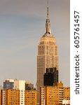 new york  usa   sep 25  2015 ... | Shutterstock . vector #605761457