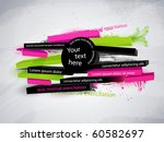 abstract vector graphic  banner ...