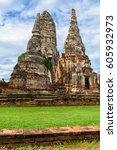 Majestic Ruins Of 1629 Wat Cha...
