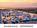 queenscliff  australia   march... | Shutterstock . vector #605960663
