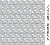 geometric op art pattern  ... | Shutterstock .eps vector #605993147