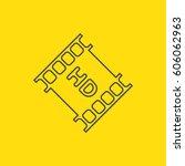 full hd icon. | Shutterstock .eps vector #606062963