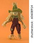 Corn Husk Scarecrow Farmer Dol...