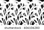 grunge black and white urban... | Shutterstock .eps vector #606106283