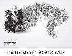 drummer particle vector   Shutterstock .eps vector #606135707