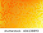 Orange Pattern Dot. Abstract...