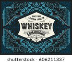 vintage design | Shutterstock .eps vector #606211337