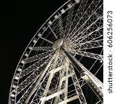 ferris wheel | Shutterstock . vector #606256073