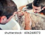 close up details of... | Shutterstock . vector #606268073
