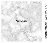 minimalist marble texture... | Shutterstock .eps vector #606293477