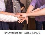 team work concept.   Shutterstock . vector #606342473