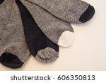 socks | Shutterstock . vector #606350813