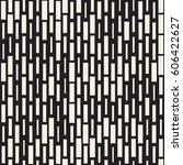 vector seamless black and white ... | Shutterstock .eps vector #606422627
