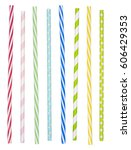 Colorful Drinking Straws...