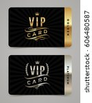 golden and platinum vip card...