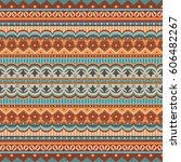 abstract ethnic stripe pattern  ...   Shutterstock .eps vector #606482267