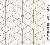 vector seamless pattern. modern ... | Shutterstock .eps vector #606498593
