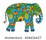 Drawing Stylized Elephant....