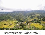 cat cat village of sapa  sapa... | Shutterstock . vector #606629573