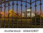 ananta samakhom throne hall...   Shutterstock . vector #606632807
