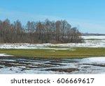 Spring Snow Last Winter. The...
