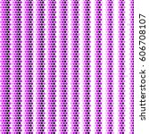 abstract grunge grid polka dot... | Shutterstock .eps vector #606708107