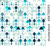 diamond seamless pattern.... | Shutterstock .eps vector #606750593