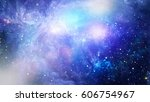 space many light years far from ... | Shutterstock . vector #606754967