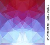 polygonal vector background. ... | Shutterstock .eps vector #606760013