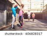 this is time for break. | Shutterstock . vector #606828317