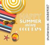 vector background template for... | Shutterstock .eps vector #606869087