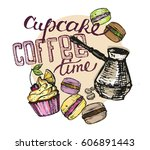 hand drawn doodle illustration... | Shutterstock .eps vector #606891443