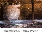salt in the basket | Shutterstock . vector #606919727