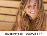 beautiful woman | Shutterstock . vector #606925577
